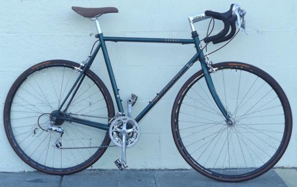 56cm Giant Kronos Cr Mo Classic Rsx Sport Road Bike 5 9 6 0