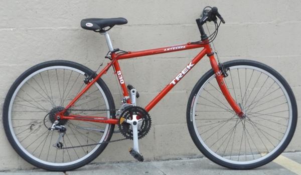 16 5 Trek 830 Antelope Shimano Cr Mo Utility Bike 5 4 5 7