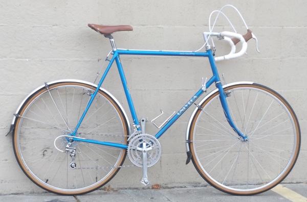 62cm Univega Viva Touring Lugged Butted Vintage Road Bike 6 0 6 4