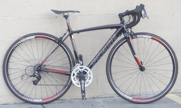 49cm Specialized Allez Evo Aluminum Carbon Sram Rival Road Bike 4