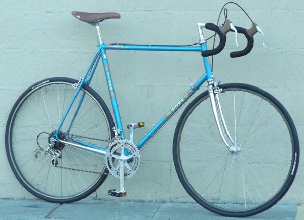 61cm Viner Vintage Steel Italian Campagnolo Road Bike 6 1 6 4
