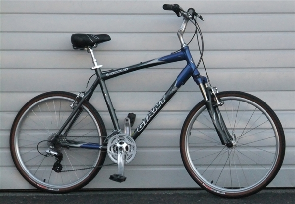 21 Quot Large Giant Sedona Dx 24 Speed Comfort Commuter Bike 5