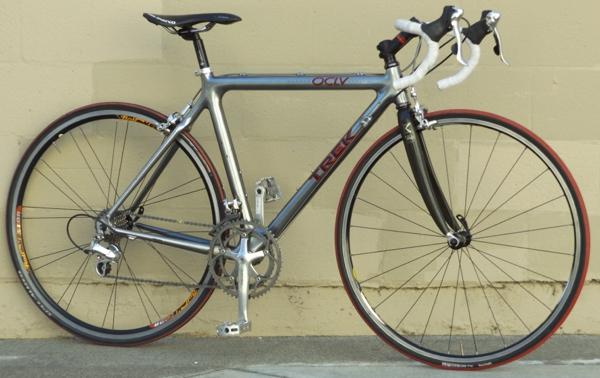 52cm Trek 5000 Carbon Oclv Dura Ace Ultegra Road Bike 5 3