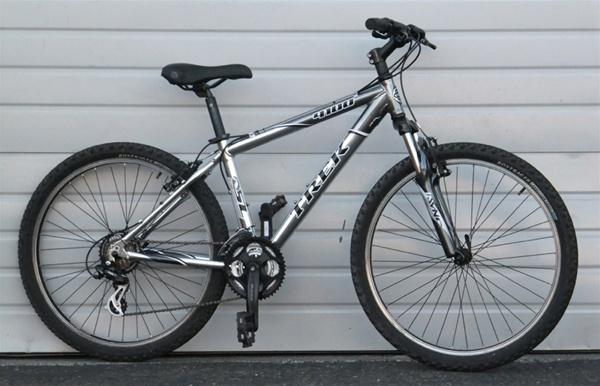 """Sync My Ride >> 16"""" TREK 4100 Alpha Aluminum 21 Speed Hardtail Mountain ..."""