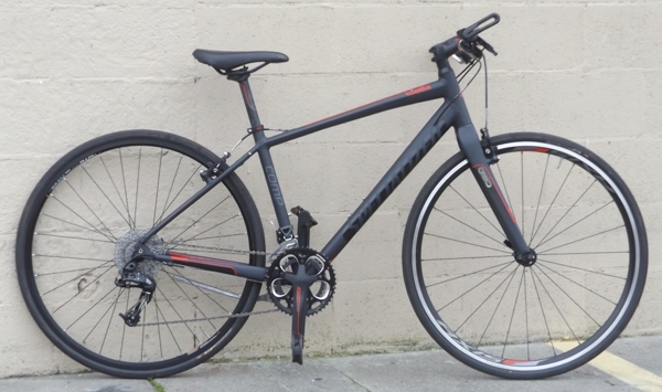 Small Specialized Sirrus Comp Aluminum Carbon Hybrid