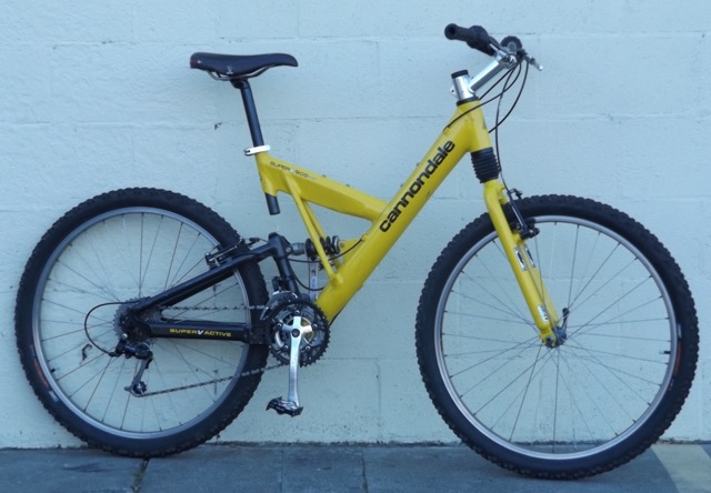 Medium Cannondale Super V 900 Full Suspension Usa Made Mountain Bike