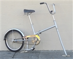 "Medium ICE BIKE Folding Ice Skate Bicycle Adjustable Hungary Unique ~4'11""-6'0"""