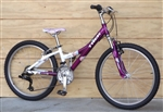 "24"" Wheel TREK MT220 Aluminum 21 Speed Utility Mountain Bike ~4'9""-5'0"""