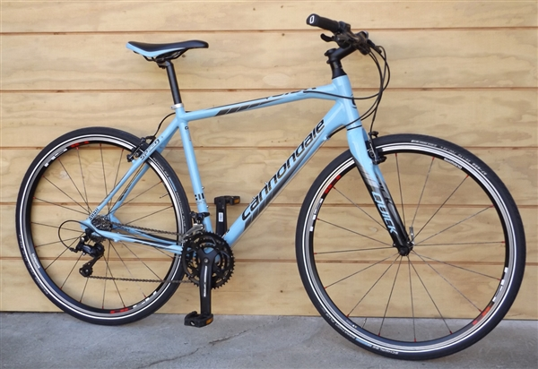 "Large CANNONDALE Quick Speed 2 Aluminum Carbon Hybrid Utility Bike ~5'8""-5'11"""