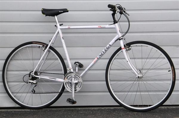 60cm Univega Via Carisma Chromoly Hybrid Road Utility Bike