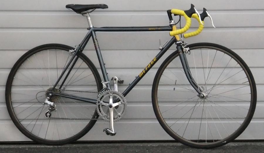 52cm Vintage MIYATA Seven Ten 12 Speed Road Bike 5'4