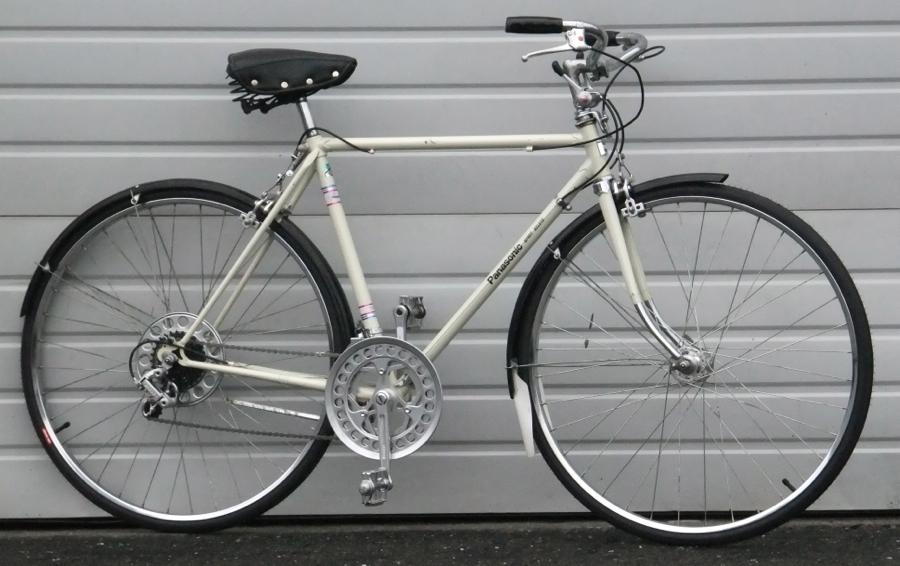 53cm Vintage PANASONIC Sport Deluxe Road/Utility Bike 5\'5\
