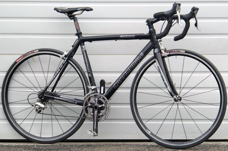 abdd3fe1094 52cm CANNONDALE R1000 Aluminum Carbon Fork Road Bike ~5'4 ...