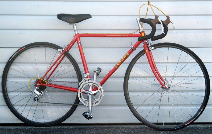 48cm TAKARA Olympian Lugged Steel Triple Butted 12 Speed Road Bike ...