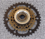 5 speed 14-38 Suntour 4532 freewheel Japan NEW