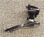 9 speed Shimano Sora FD-3500 double front derailleur 31.8 bottom pull