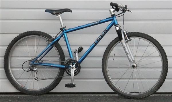 16 Quot Trek 950 Singletrack 24 Speed Mountain Bike 5 2 Quot 5 5 Quot
