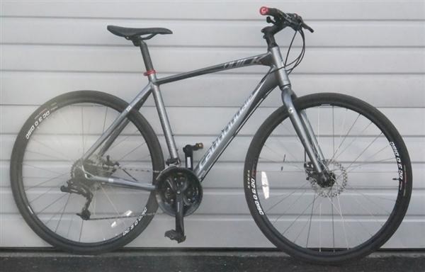 Large Cannondale Quick Cx Aluminum Hybrid Bike 5 10 Quot 6 1 Quot