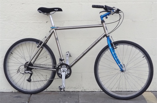 "19"" MARIN Tange 21 Speed Steel City Masher Utility Bike ~5'9""-6'0"""