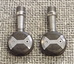 Speedplay X2 stainless spindle clipless road pedals 9/16""