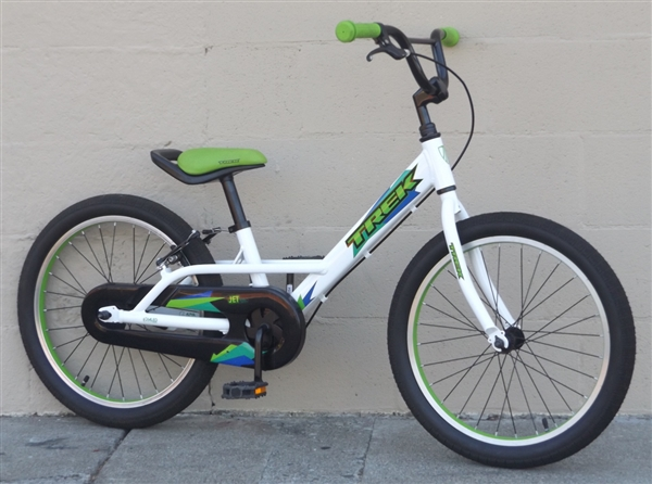 "20"" Wheel TREK Jet 20 Single Speed Transition Bike ~Ages 5-8"