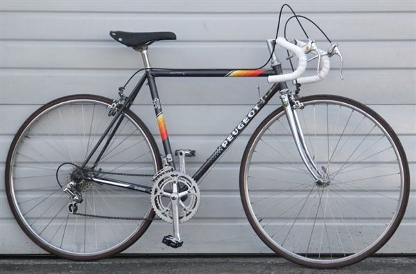 51cm Vintage Peugeot Lugged Steel 12 Speed Road Bike 5 2