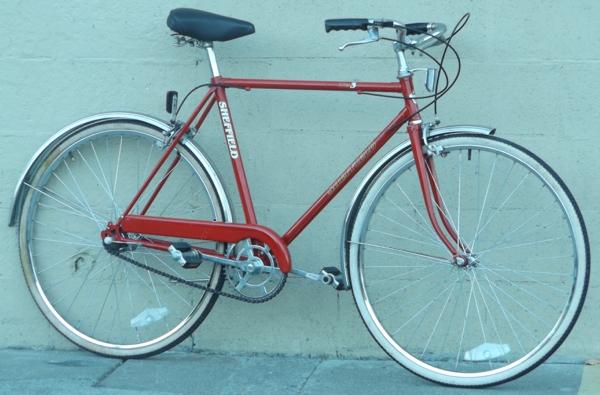 "20"" Vintage FREE SPIRIT Sheffield 3 Speed Utility Bike ~5'6""-5'9"""