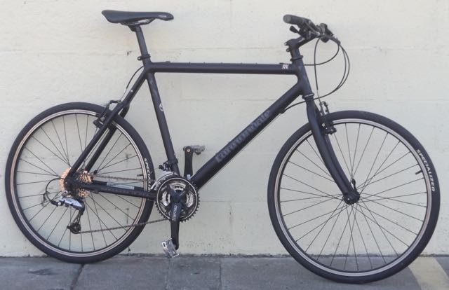 Large CANNONDALE Bad Boy Aluminum USA Hybrid Commuter Utility Bike ...