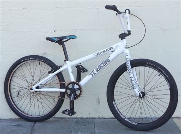 "24"" Wheel SE RACING Floval Flyer Cruiser BMX Racing Dirtjumping Bike ~5'4""-6'1"""