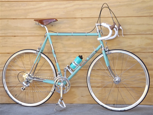 "61cm BIANCHI L'Eroica Retro Columbus Italy Road Bike NEW ~6'0""-6'3"""