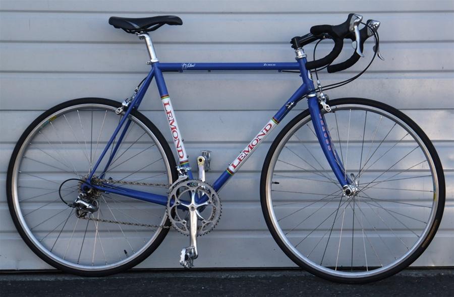 57cm 2000 USA Made Lemond Zurich Reynolds 853 Road Bike 5\'9\