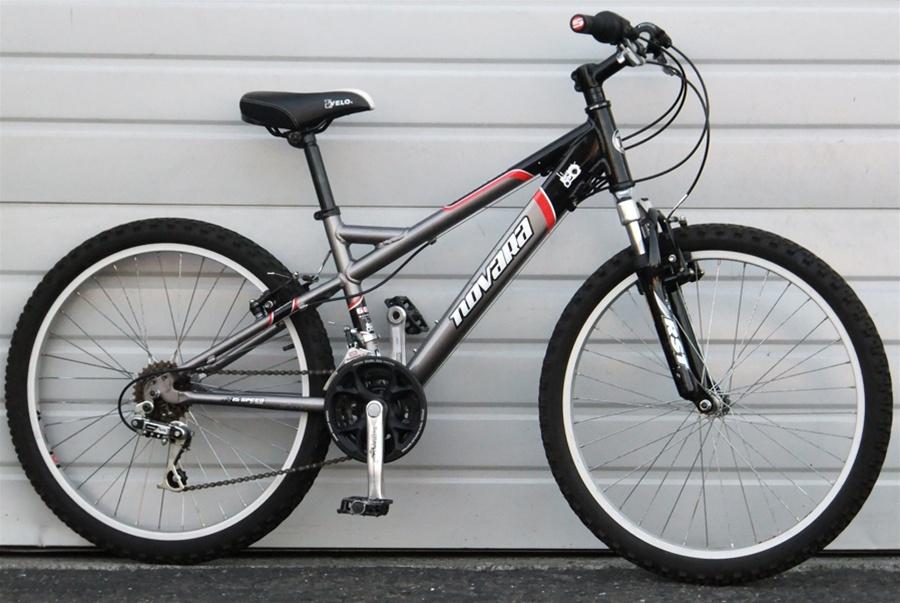All Terrain Bike >> 24 Wheel Novara Tractor Aluminum Junior Kids All Terrain Bike 4 4