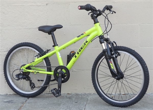 "20"" Wheel TREK Precaliber Kids 6 Speed Mountain Bike ~Ages 5-8"