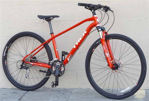 "17.5"" TREK 8.4 DS Dual Sport Aluminum Suspension Disc Utility Bike ~5'5""-5'8"""