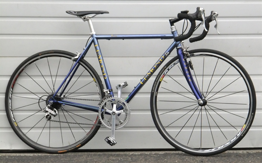 53cm USA LeMond Zurich Dura-Ace Reynolds 853 Road Bike 5\'6\