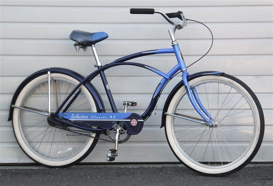 Large SCHWINN Classic Al 3 Speed Cruiser Bike ~5'10