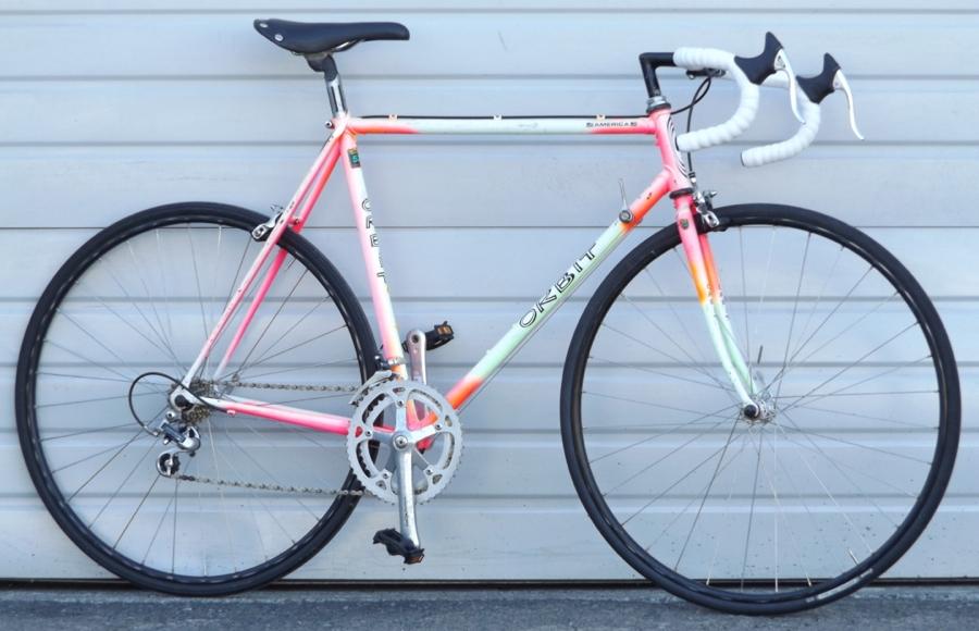 54cm ORBIT America Lugged Steel Triple Butted 12 Speed Road Bike 5\'6 ...