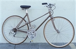 "50cm MIYATA Two Ten Mixte Vintage Step Thru Lugged Utility Town Bike ~5'4""-5'7"""