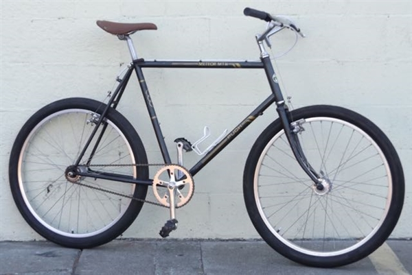 "22"" PUCH Meteor Mtn Vintage Single Speed Town ATB Utility Bike ~5'11""-6'2"""
