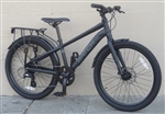 "XS BATCH Commuter 8 Speed Disc 24"" Aluminum City Bike ~4'10""-5'1"""