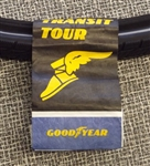 700 x 35 Goodyear Transit Tour tire black reflective sidewall NEW
