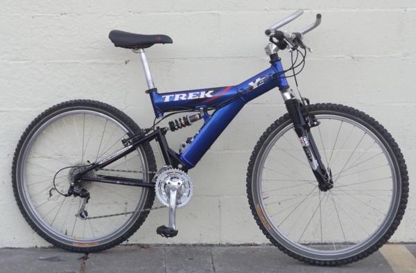 16 Quot Trek Y3 Fox Full Suspension Aluminum Usa Mountain Bike