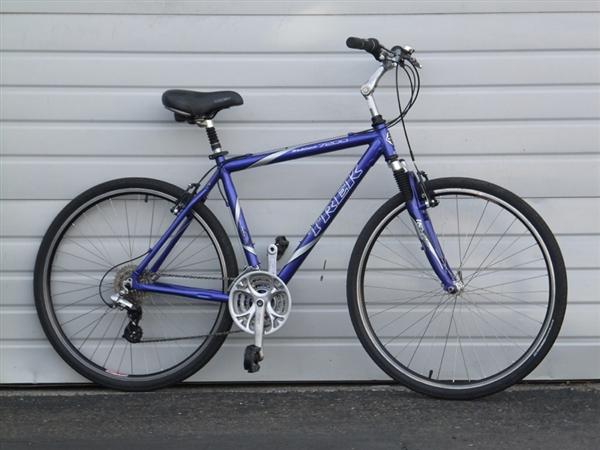 Trek 7200 Multitrack 20 Aluminum Comfort Commuter Bike 5
