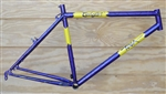 "18"" Toga Cycle Art butted steel hardtail mountain frame"