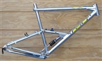 "18"" GT RTS-2 butted aluminum full suspension mountain frame"