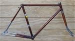 53cm Raleigh Super Course England steel road frame