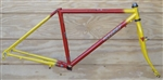 "16"" Ritchey Ascent USA 4130 steel mountain frame"