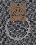 22t x 58 bcd Shimano steel chainring
