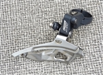 9 speed Shimano Deore LX FD-M571 triple front derailleur 34.9 top pull