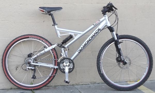 large diamondback xsl trail deore xt mavic full suspension mountain bike